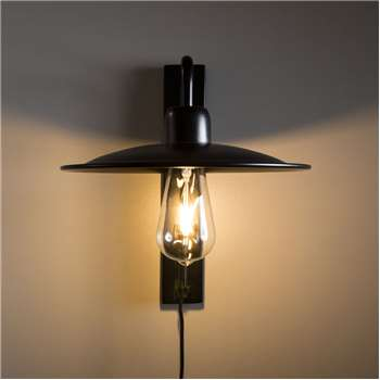 Iron Wall Light (H31 x W26 x D34cm)
