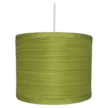 "Isabel 10"" Pendant Light Shade Green (H18 x W25 x D25cm)"