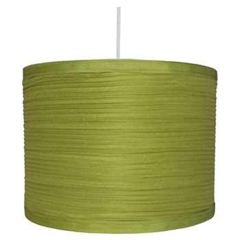 "Isabel 12"" Pendant Light Shade Green (H20 x W30 x D30cm)"