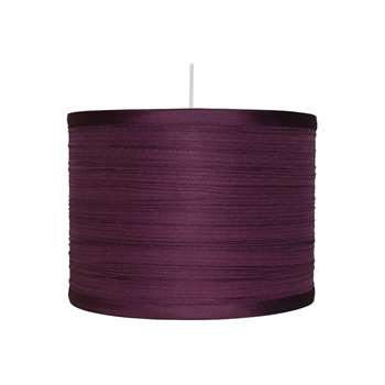 "Isabel 12"" Pendant Light Shade Plum (H20 x W30 x D30cm)"