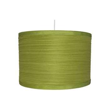 "Isabel 14"" Pendant Light Shade Green (H22 x W35 x D35cm)"
