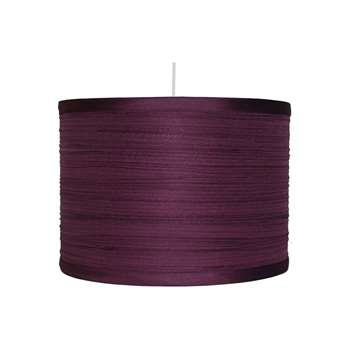 "Isabel 14"" Pendant Light Shade Plum (H22 x W35 x D35cm)"