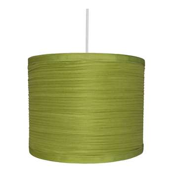 "Isabel 8"" Pendant Light Shade Green (H16 x W20 x D20cm)"