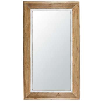 ISLAND - pine mirror (H140 x W80 x D6.5cm)
