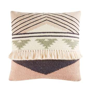 ITZA Wool and Cotton Berber Cushion (45 x 45cm)