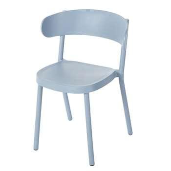 IZA PRO Professional Blue Garden Chair, Blue (H75 x W53.5 x D49cm)