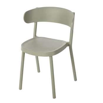 IZA PRO Professional Khaki Garden Chair, Green (H75 x W53.5 x D49cm)
