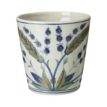 Iznik China Planter - Multi (13 x 13cm)