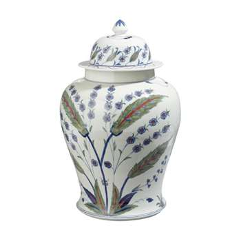 Iznik Lidded Jar - Multi (52 x 34cm)