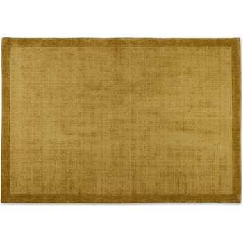Jago Border Rug, Antique Gold (H160 x W230 x D1.7cm)
