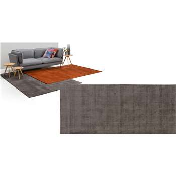 Jago Extra Large Rug, Charcoal (200 x 300cm)