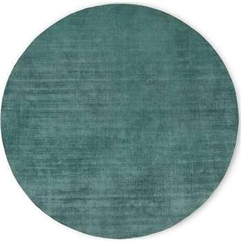 Jago Rug, Teal (Diameter 200cm)