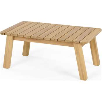 Jala Garden Coffee Table, Acacia wood (H43 x W97 x D55cm)