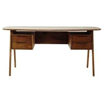 JANEIRO Mango wood vintage desk (77 x 165cm)