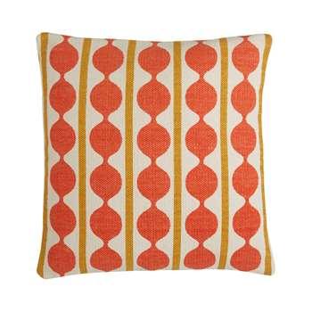 Jardim Brick- Red Screen Printed Cushion (H50 x W50cm)