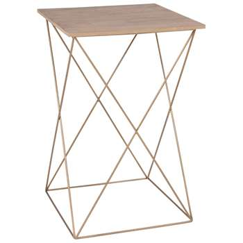 Jason - Wire Side Table (H50 x W32 x D32cm)