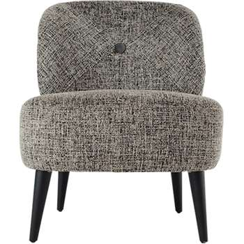 Jasper Accent Chair, Monochrome Boucle (79 x 62cm)