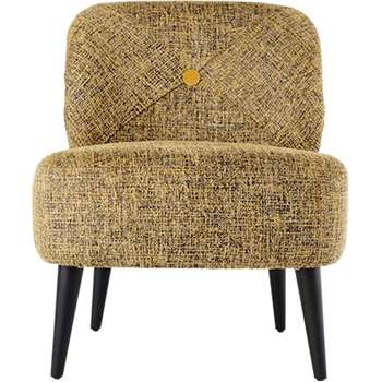 Jasper Accent Chair, Saffron Boucle (79 x 62cm)