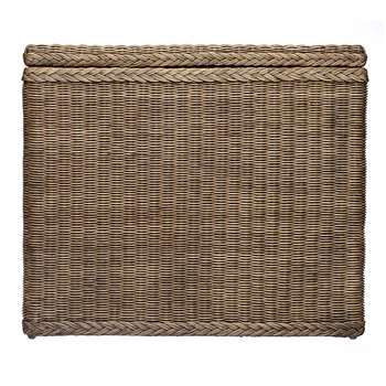 Java Laundry Basket, Dark Brown (H68 x W78 x D40cm)