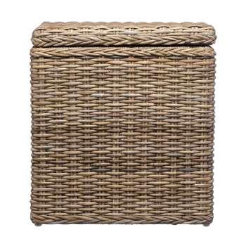 Java Laundry Basket, Grey Brown (50 x 45cm)