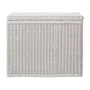 Java Laundry Basket, White (68 x 78cm)