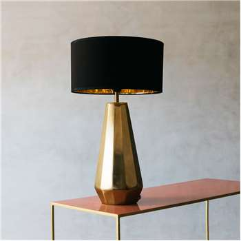 Jem Metal Table Lamp (H48 x W18 x D18cm)