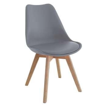 Jerry Grey Dining Chair (84 x 47cm)