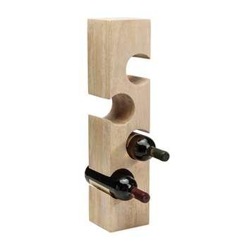 Jigsaw four bottle wine rack (60 x 13cm)
