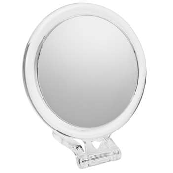 John Lewis 10x Magnification Acrylic Hand Mirror (10 x 12cm)