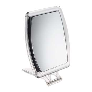 John Lewis & Partners 10x Magnification Perspex Mirror (H19 x W15.5cm)