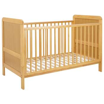 John Lewis Alex Cot bed, Natural Pine - 93 x 144.5cm