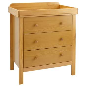 John Lewis Alex Dresser, Natural, Pine wood (94 x 50.5cm)