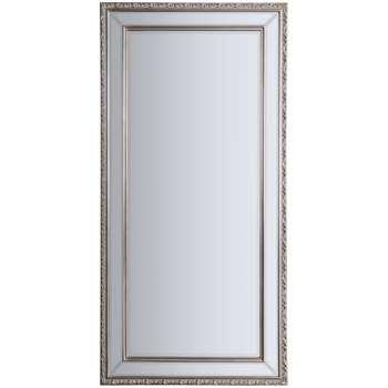 John Lewis Arnaz Rectangular Mirror, Pewter (H99 x W74cm)