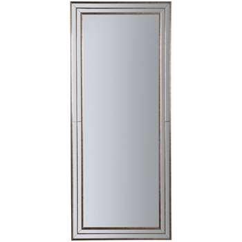 John Lewis Audrey Rectangular Leaner Mirror, Champagne (H154 x W65 x D3cm)