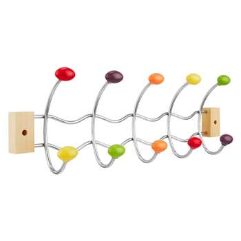 John Lewis Ball Hook Coat Hanger, Multi