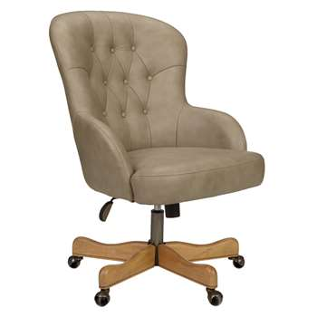 John Lewis Benedict Office Chair, Grey (111 x 66cm)