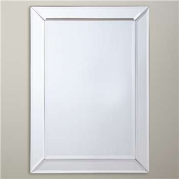 John Lewis Bevel Simple Mirror (50 x 70cm)