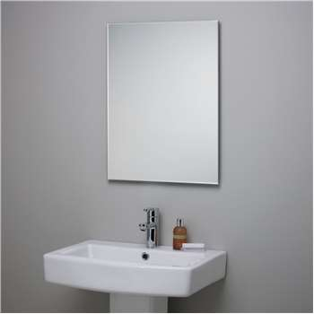 John Lewis Bevelled Edge Bathroom Mirror (45 x 60cm)