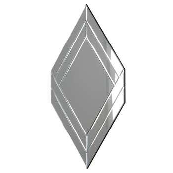 John Lewis Boutique Hotel Diamond Mirror (104 x 60cm)