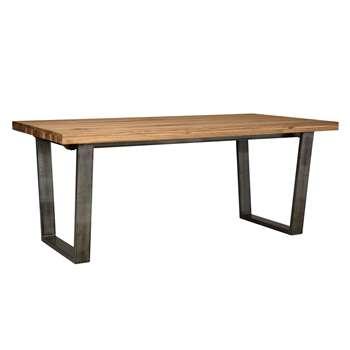 John Lewis & Partners Calia 8 Seater Dining Table, Oak (H76 x W190 x D95cm)