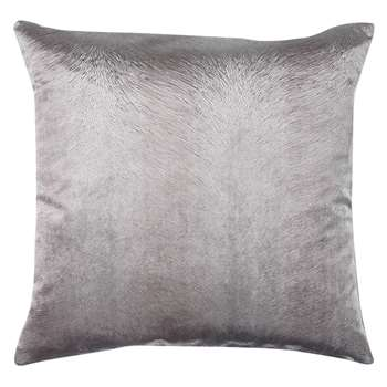 John Lewis Cavendish Cushion, Silver (50 x 50cm)