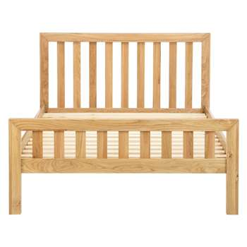 John Lewis & Partners Cooper Bed Frame, King Size, Oak (H100 x W160.4 x D209cm)