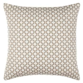 Croft Collection Weave Cushion, Natural (50 x 50cm)