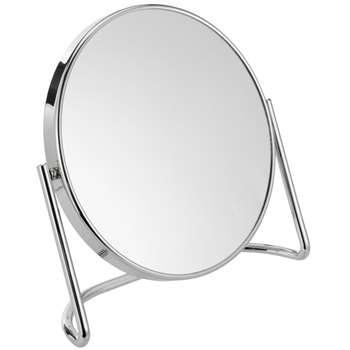 John Lewis D-Stand 7x Magnification Mirror, Chrome (22.5 x 20cm)