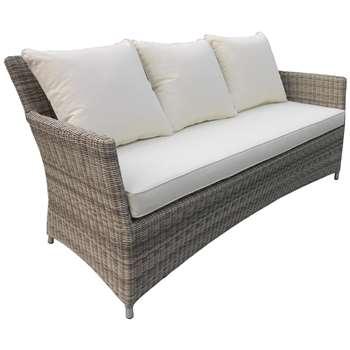 John Lewis Dante 3 Seater Sofa, Natural (80 x 173cm)