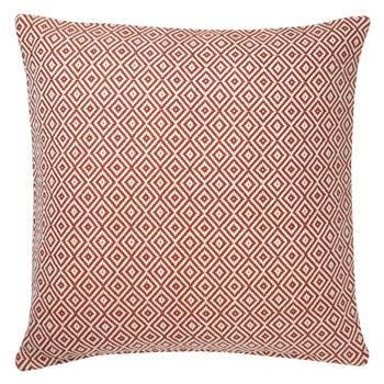 John Lewis Diamonds Cushion Paprika