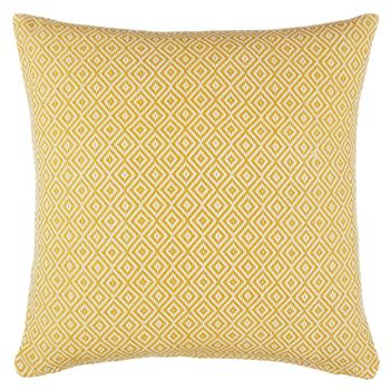 John Lewis Diamonds Cushion Saffron