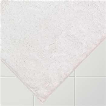 John Lewis Drylon Bath Mat - White 50 x 80cm
