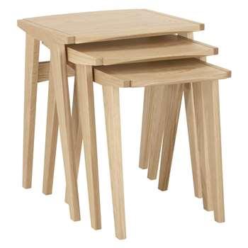 John Lewis Duhrer Nest of Tables (Width 50cm)