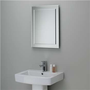 John Lewis Duo Wall Bathroom Mirror (H60 x W45cm)